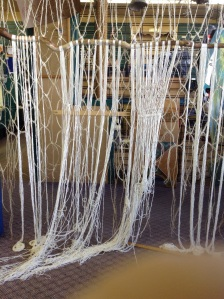 Safety net sculpture started for basic income days September 13 to 18, 2015